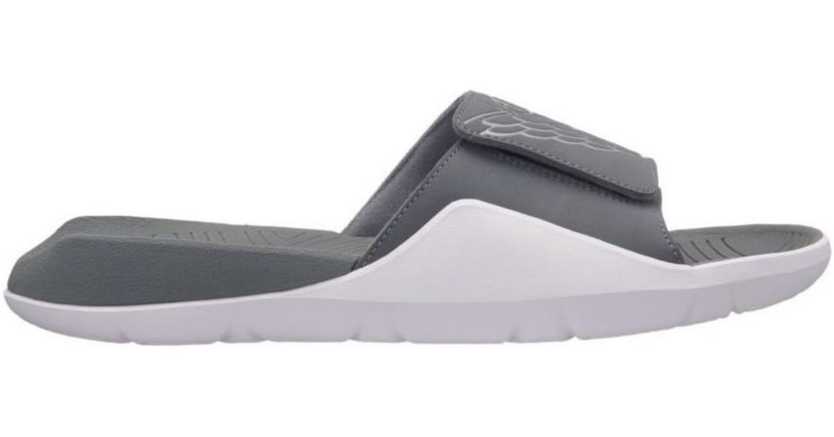 size 40 13a2b bee87 Nike Air Jordan Hydro 7 Men s Sandals In White in White for Men - Lyst