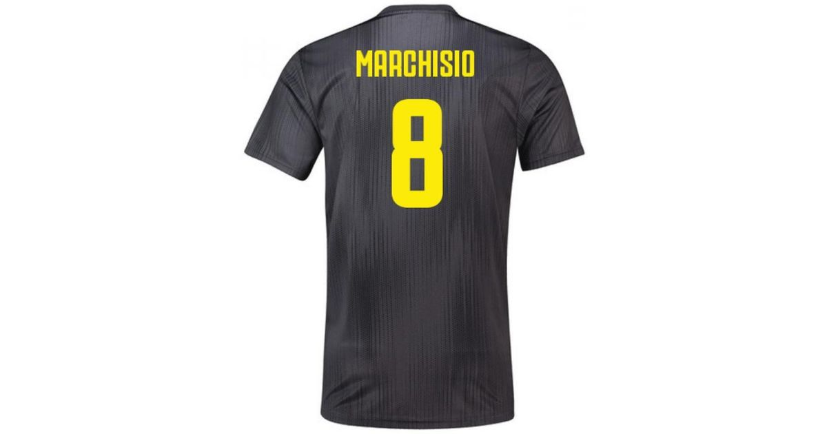 new arrivals 18139 5062f Adidas - Multicolor 2018-19 Juventus Third Football Shirt (marchisio 8)  Men's T Shirt In Other for Men - Lyst