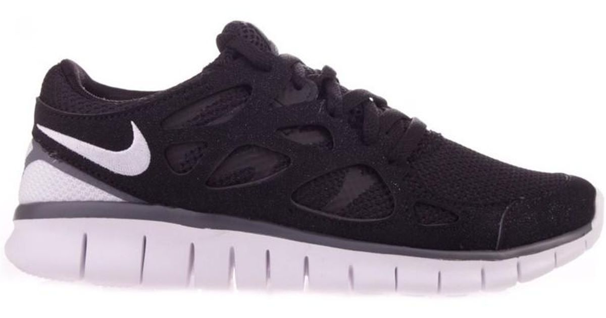 wholesale dealer 94a49 99495 Nike Free Run 2 Ext Women s Running Trainers In Black in Black - Lyst