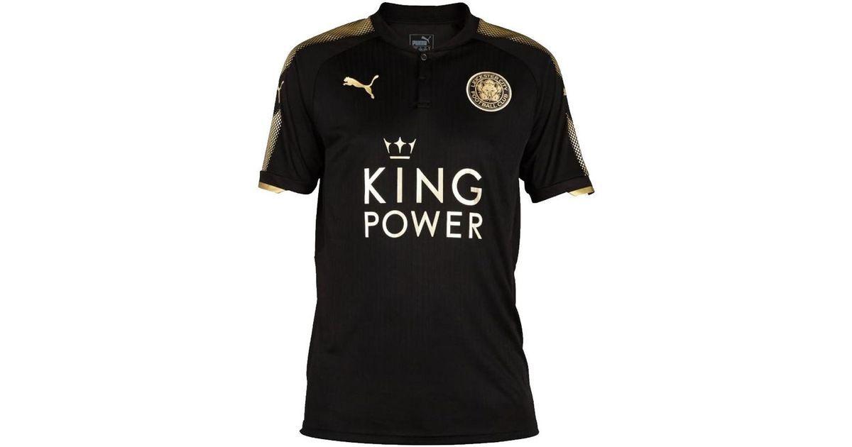 best sneakers 53950 6713a PUMA 2017-18 Leicester City Away Shirt (mahrez 26) Women's T Shirt In Black