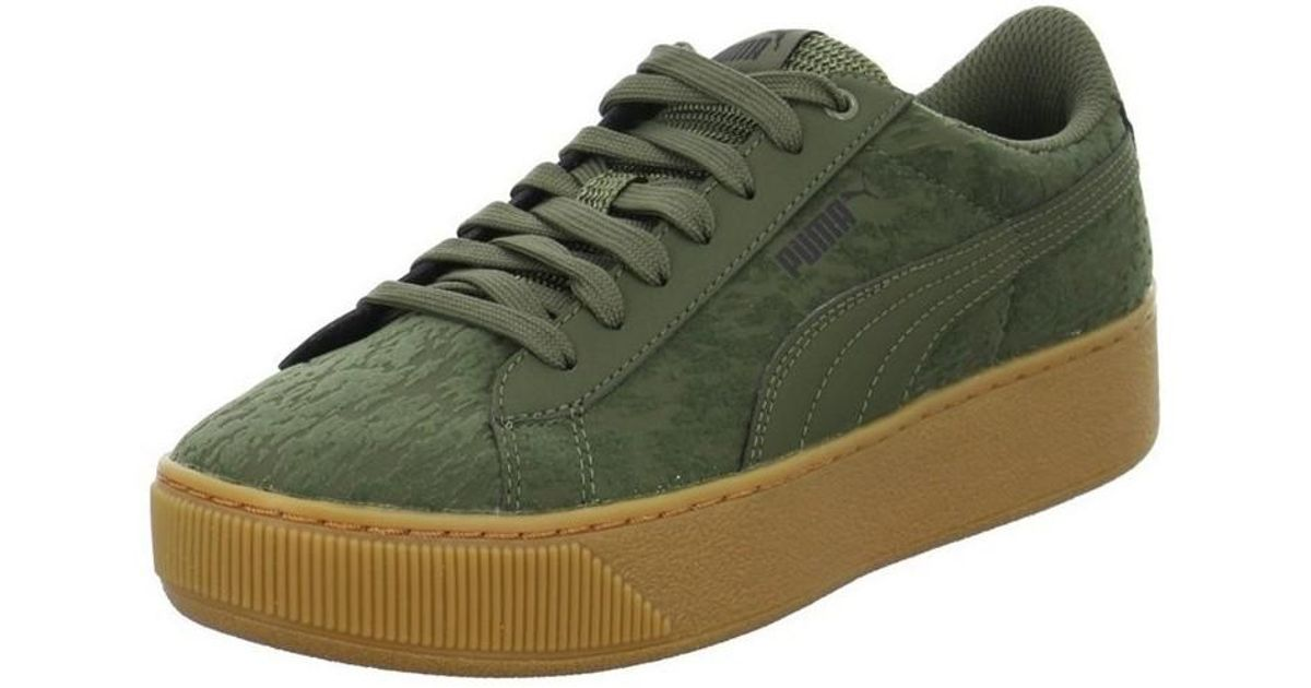 2754c9b372fb PUMA Vikky Platform Vr Men s Shoes (trainers) In Green in Green for Men -  Lyst