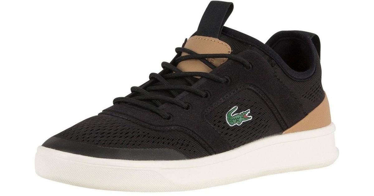7928da2c29f96 Lacoste Men's Explorateur Light 2181 Cam Trainers, Black Men's Shoes  (trainers) In Black for men