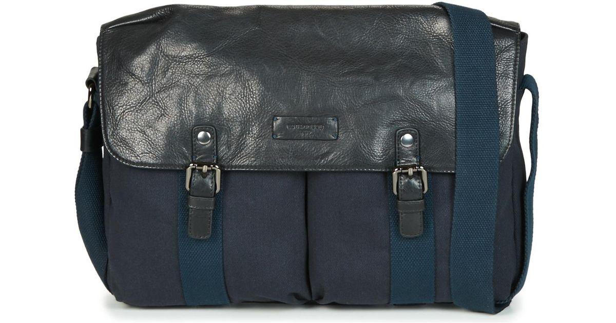 nouvelle collection ccb0b 307d4 HUGO hommes Sac bandoulière en bleu Le Tanneur pour homme en coloris Blue