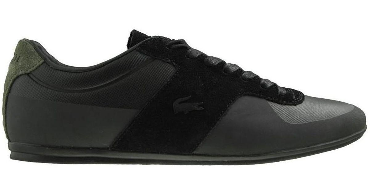 4e70d4f13f152 Lacoste Turnier 117 1 Cam Blk Men s Shoes (trainers) In Multicolour in  Black for Men - Lyst