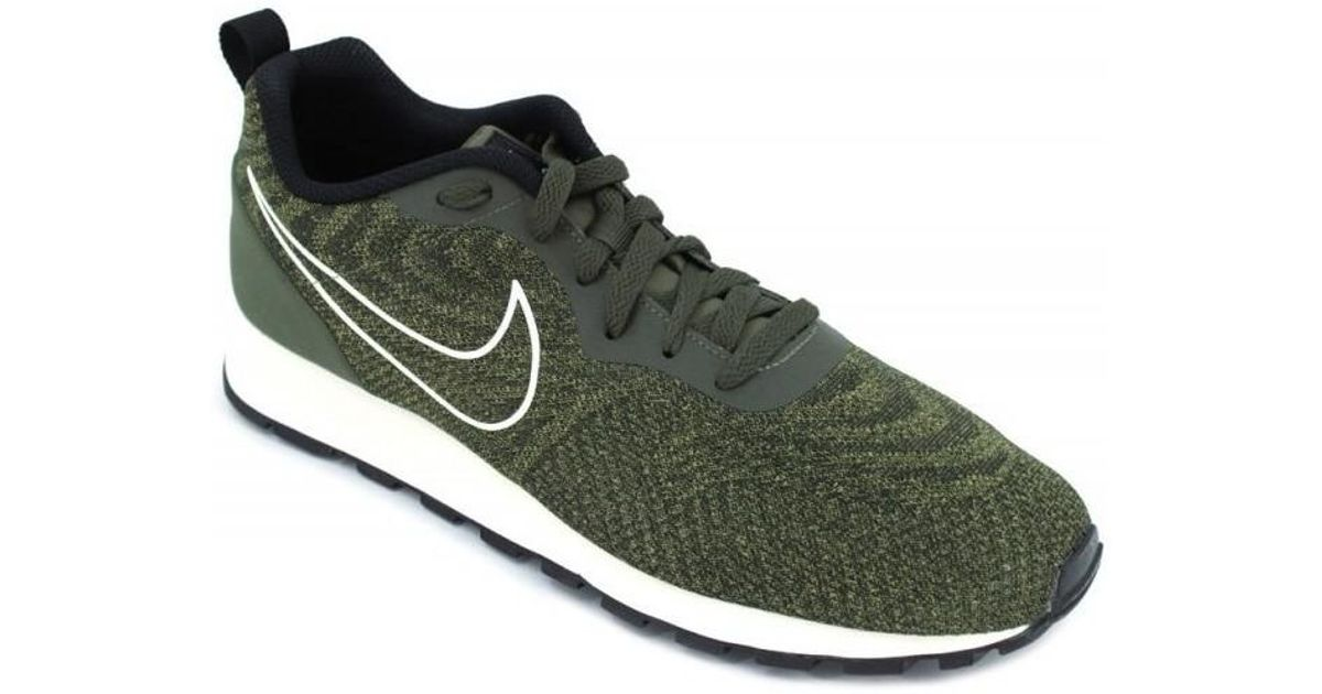 9a18ff6727 Nike Md Runner 2 Eng Mesh 916774 Men s Sneakers Men s Shoes (trainers) In  Green in Green for Men - Lyst