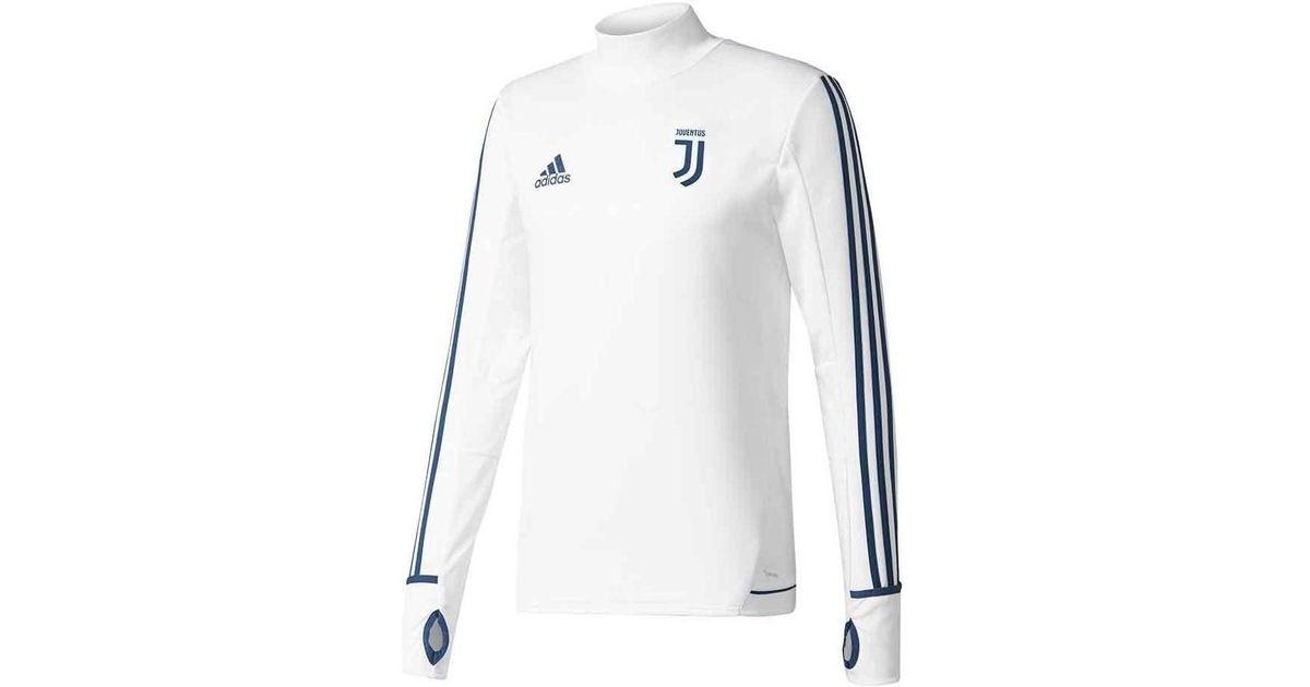 hot sales 9ceb1 0b67b Adidas 2017-2018 Juventus Training Top Men's Tracksuit Jacket In White for  men