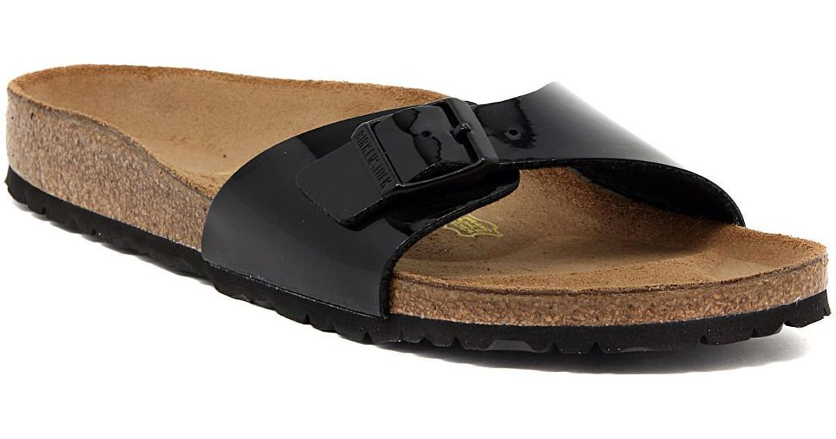 save off ca127 79551 Birkenstock Black Madrid Schwarz Lack Women's Mules / Casual Shoes In  Multicolour