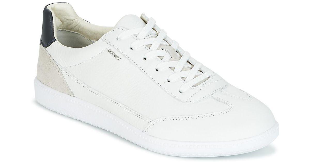 Geox Men's ShoestrainersIn B U White Keilan For Men zSMUVp