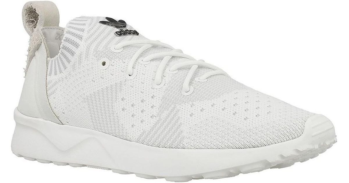 Adidas Zx Flux Adv Virtue Pk W Women's Shoes (trainers) In White