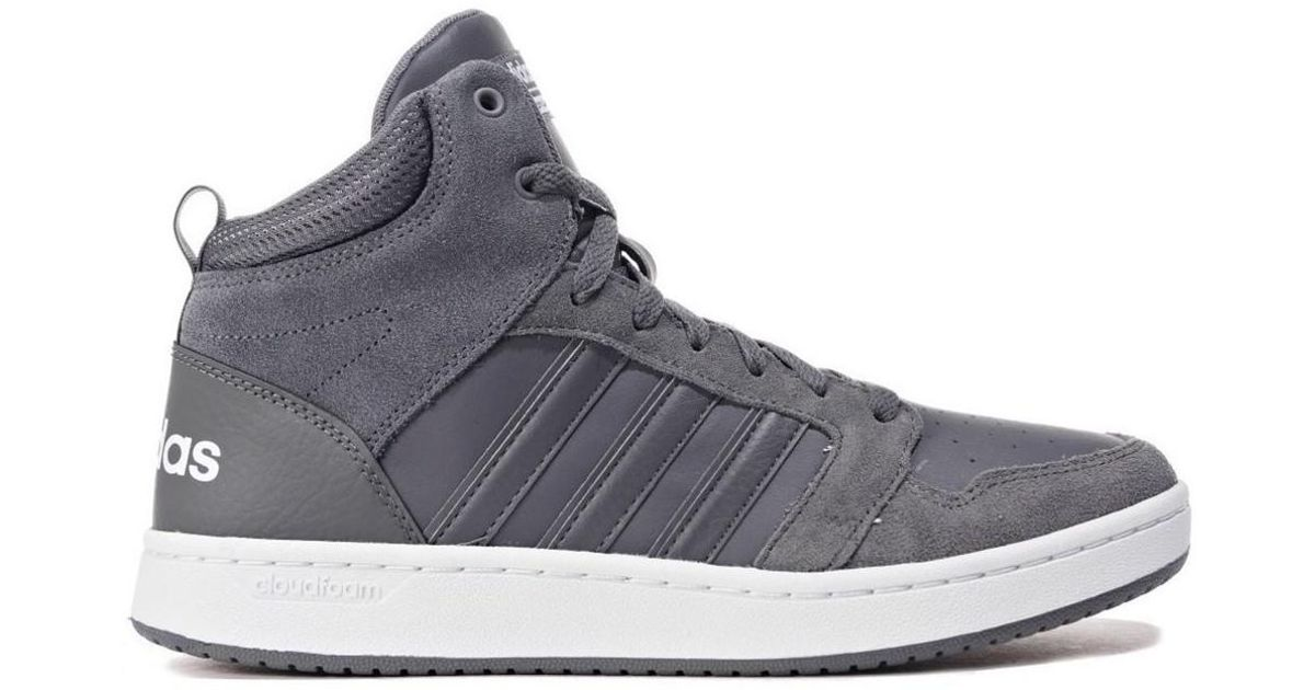 b91fd4e5 Adidas Gray Cf Super Hoops Mid Men's Shoes (high-top Trainers) In Grey for  men
