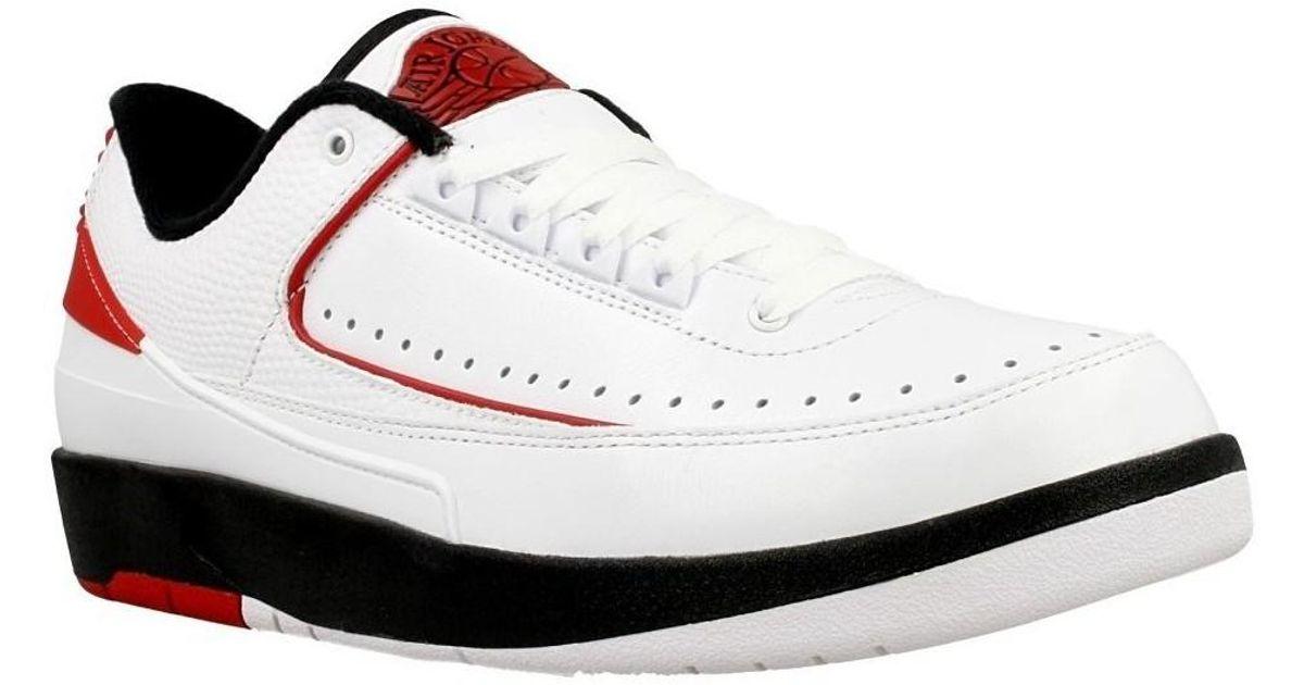 wholesale dealer 16ecb 5cb76 Nike Jordan Ii Retro Low Men's Shoes (trainers) In White for men
