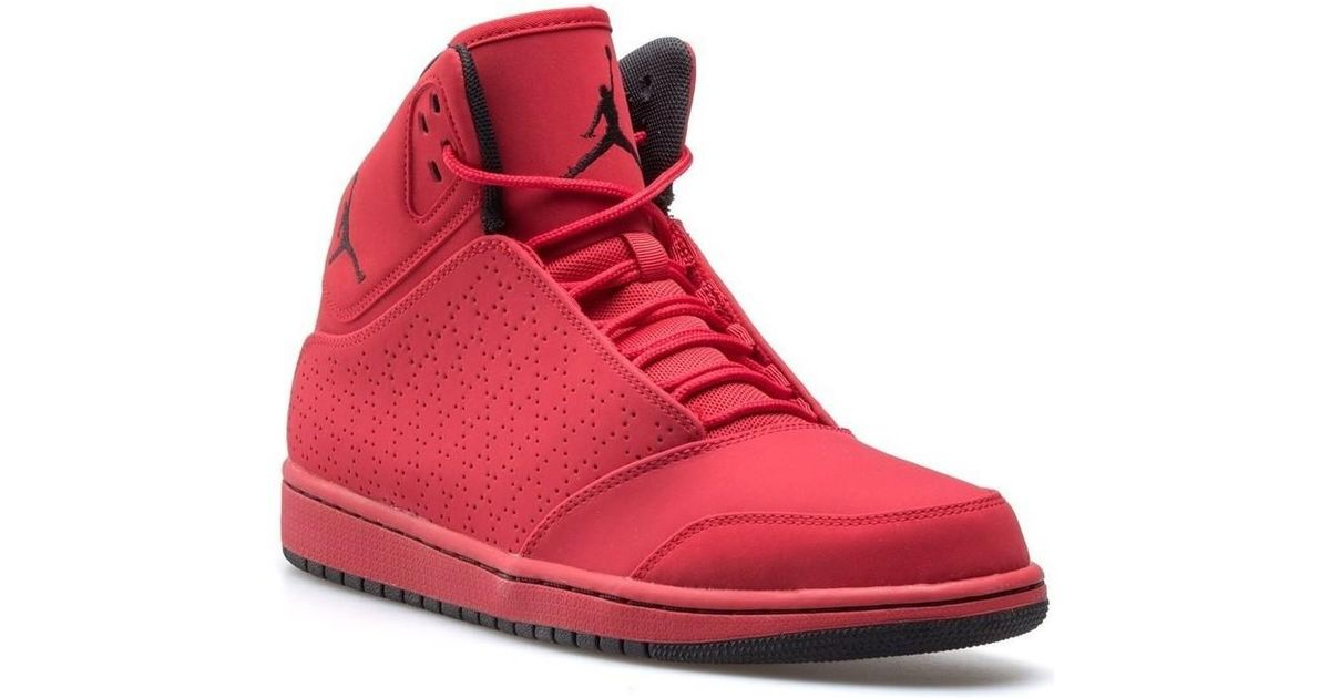 sale retailer be8b5 25383 Nike Jordan 1 Flight 5 Men s Shoes (high-top Trainers) In Red in Red for Men  - Lyst