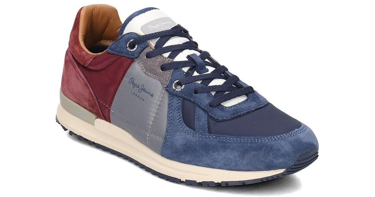 check out 40bf4 f72ab Pepe Jeans Gray Pms30485 Men's Shoes (trainers) In Grey for men