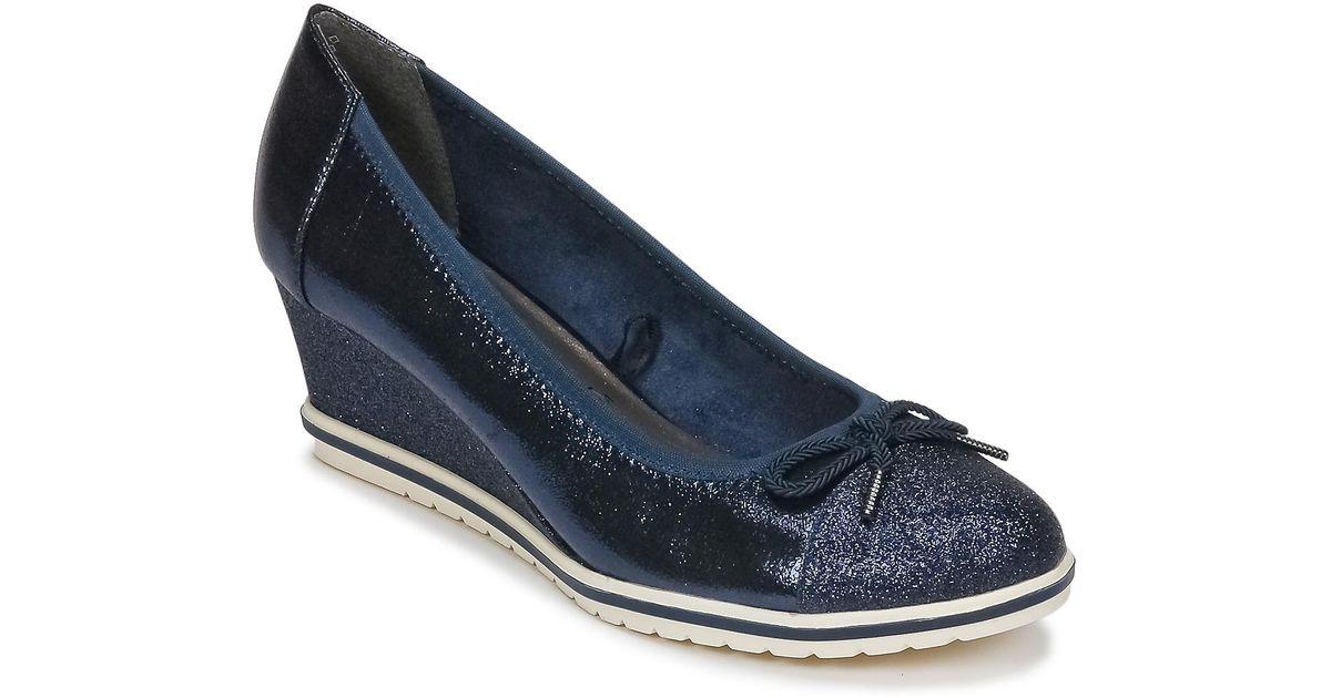 Femmes Bleu Lacapa Tamaris Coloris En Chaussures Escarpins pLUqSzGVM