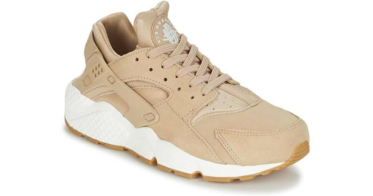 best service 4b521 81534 Nike Natural Air Huarache Run Suede W Women's Shoes (trainers) In Beige