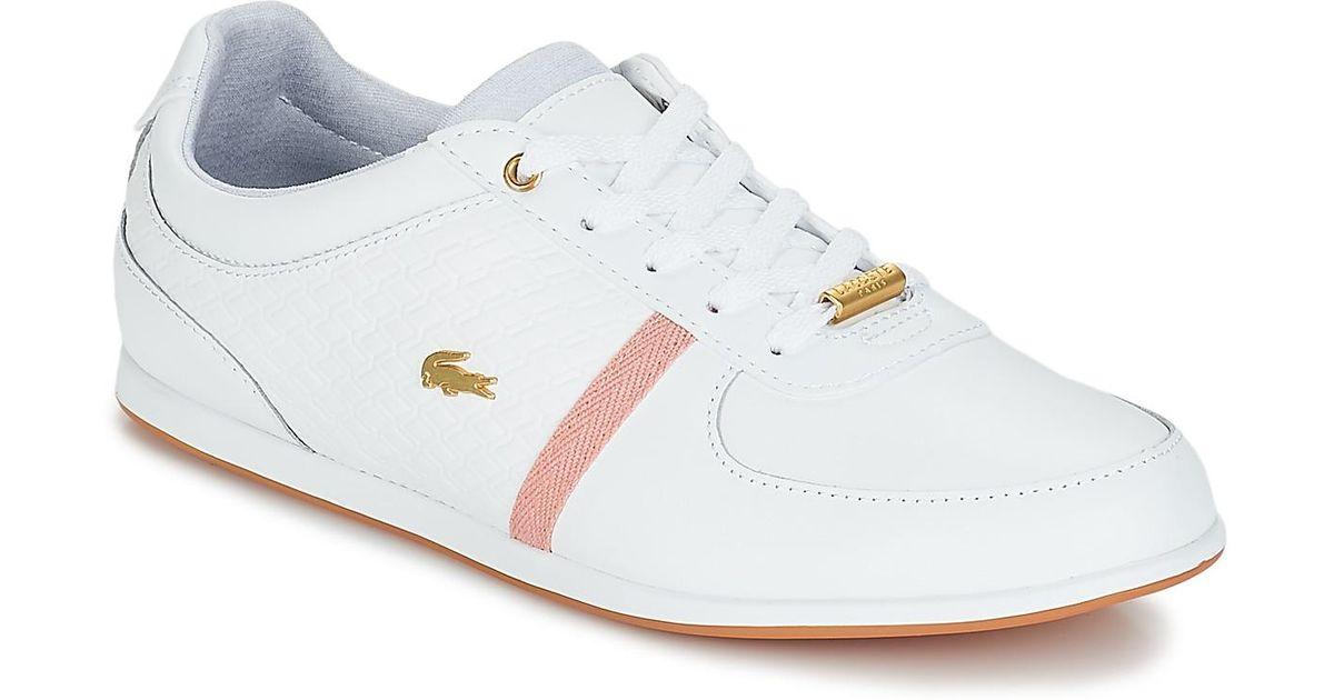 88d43cfbc Lacoste Rey Sport 318 1 Women's Shoes (trainers) In White in White - Lyst