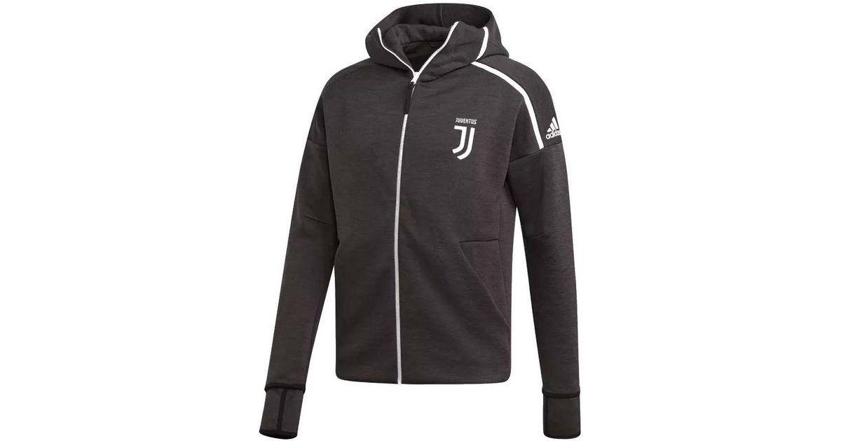 ac537fae36646 Adidas 2018-2019 Juventus Zne 3.0 Anthem Jacket Men's Tracksuit Jacket In  Black for men