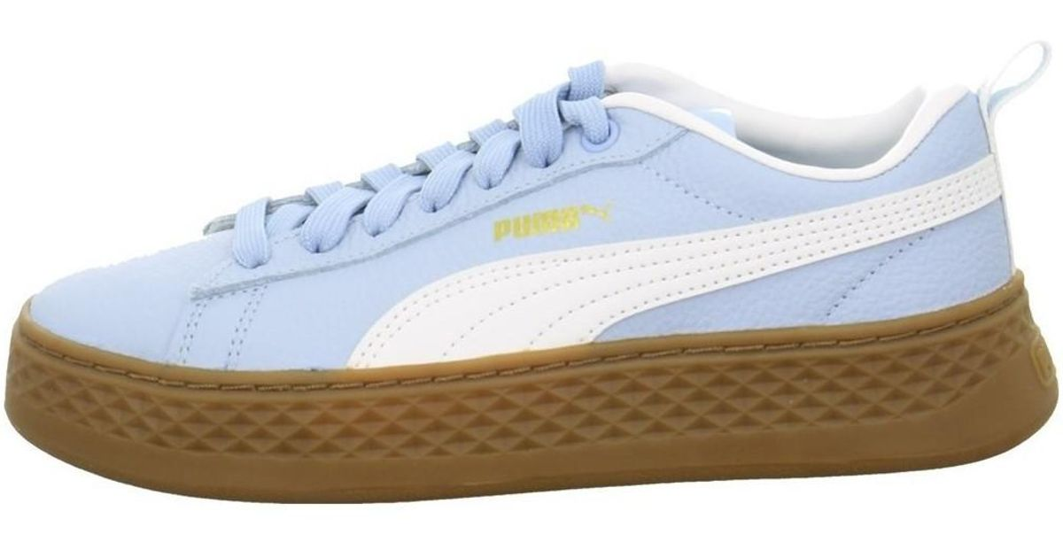 74ba2c7a2e8d05 PUMA Smash Platform Vt Women s Shoes (trainers) In Blue in Blue - Lyst