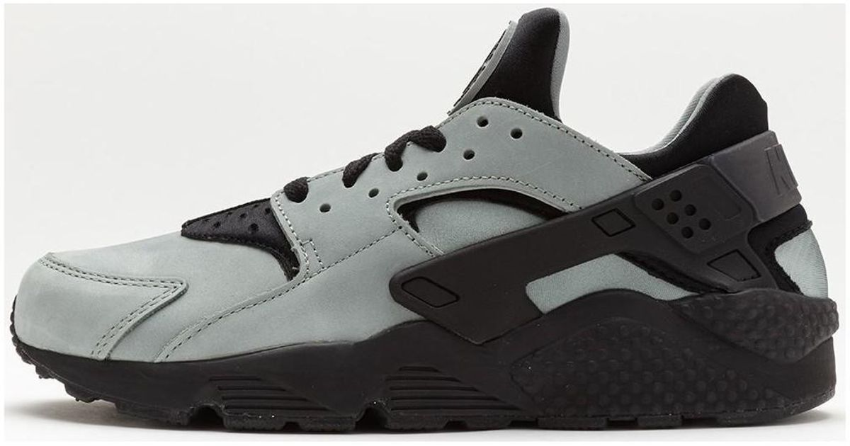 4335b9aa6019 Nike Air Huarache Premium Trainers In Mica Green Black 704830 301 Men s  Shoes (trainers) In Green in Green for Men - Lyst