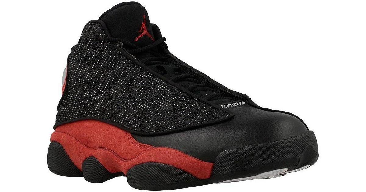 promo code 44da6 2b158 Nike Air Jordan 13 Retro Men s Shoes (high-top Trainers) In Red in Red for  Men - Lyst