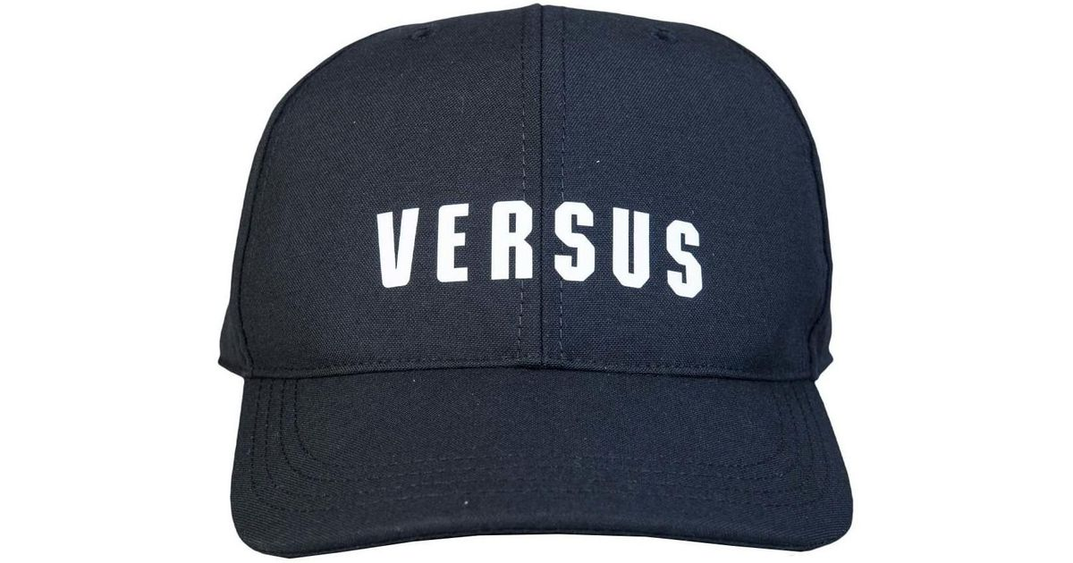 423c8a0c4 Versus Versace Baseball Cap Buc0019 Bt10596 Men's Cap In Black in Black for  Men - Lyst