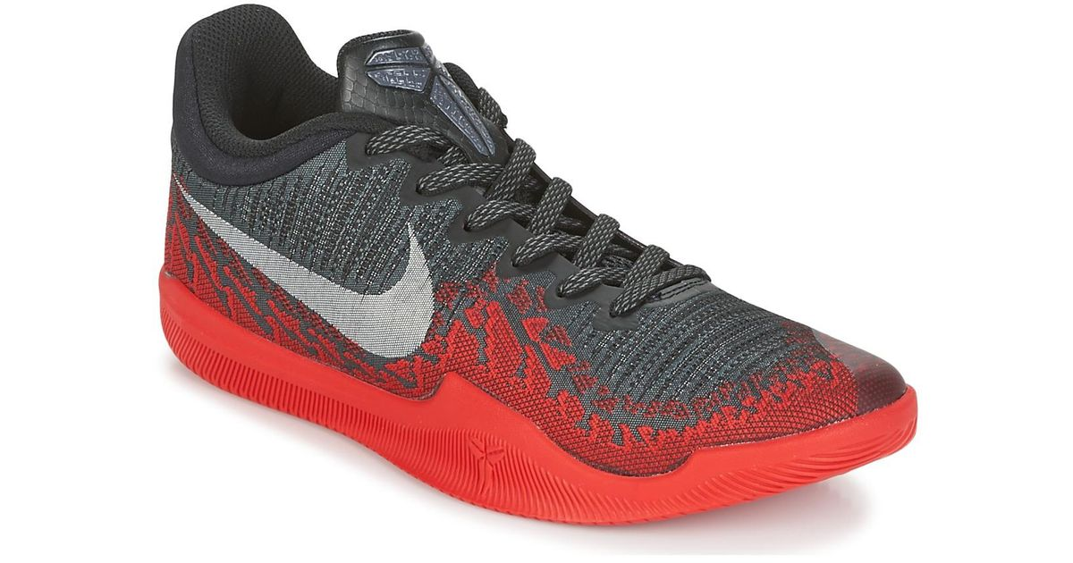 4cba63e6154 Nike Mamba Rage Premium Men s Basketball Trainers (shoes) In Grey in Gray  for Men - Lyst