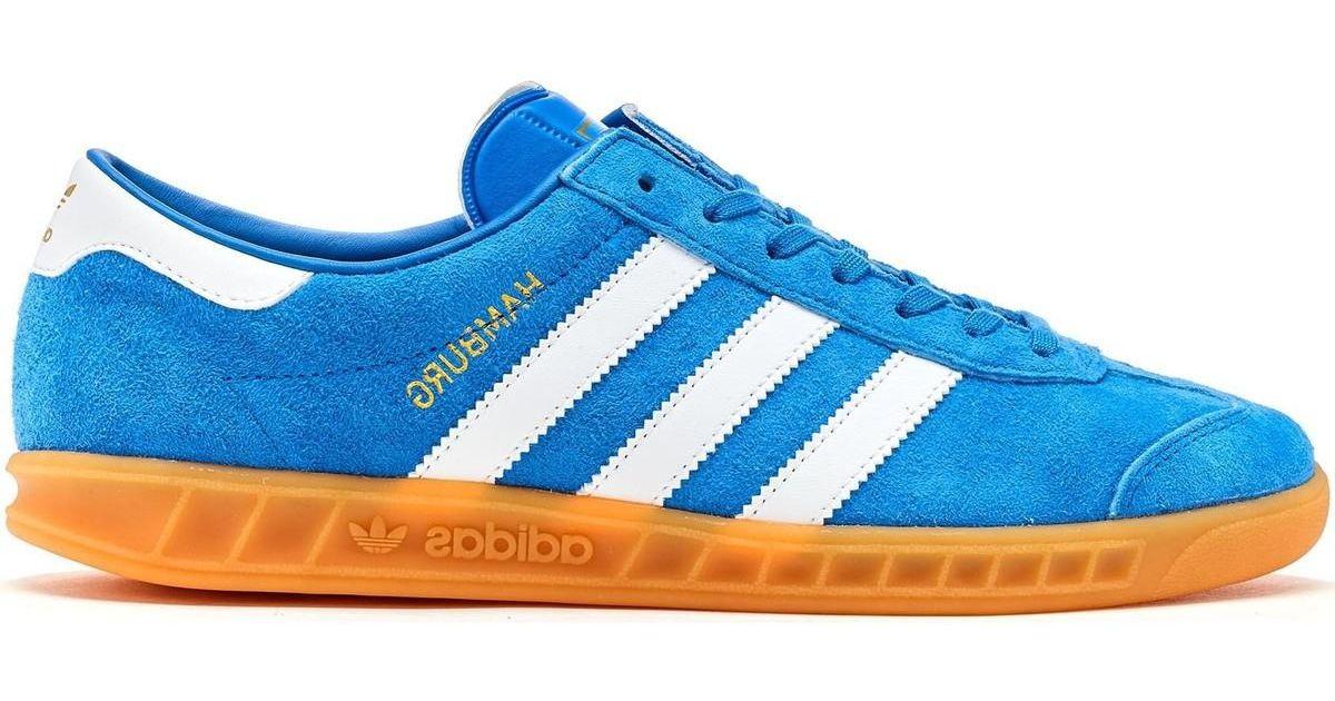 adidas hamburg chaussures couleur bluebird ftwr white