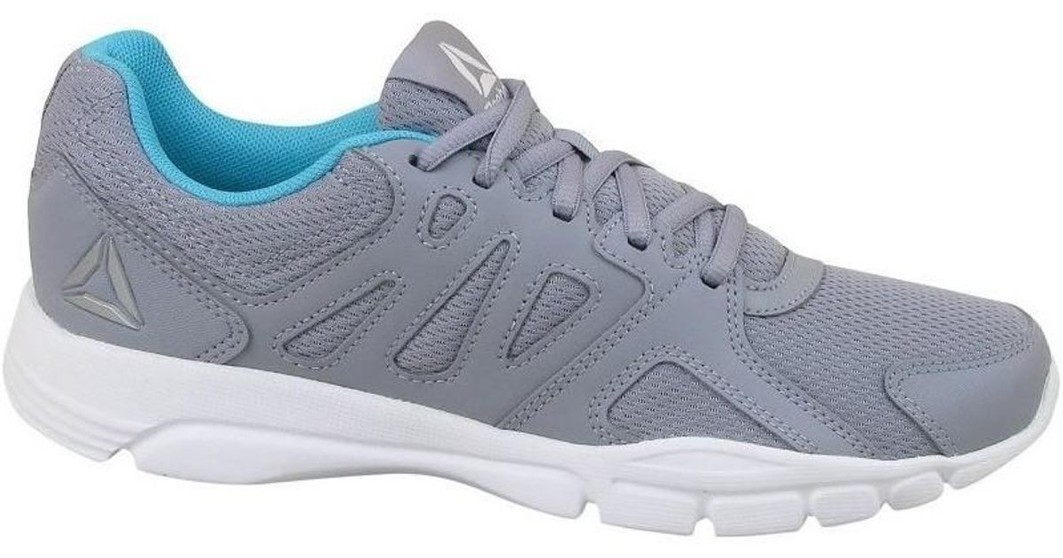 9f9670dcc4dd96 Reebok Trainfusion Nine 30 Women s Rugby Boots In Grey in Gray - Lyst