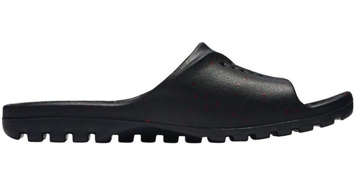 9f2ec4278 Nike Jordan Superfly Team Slide Men's Sandals In Black in Black for Men -  Lyst