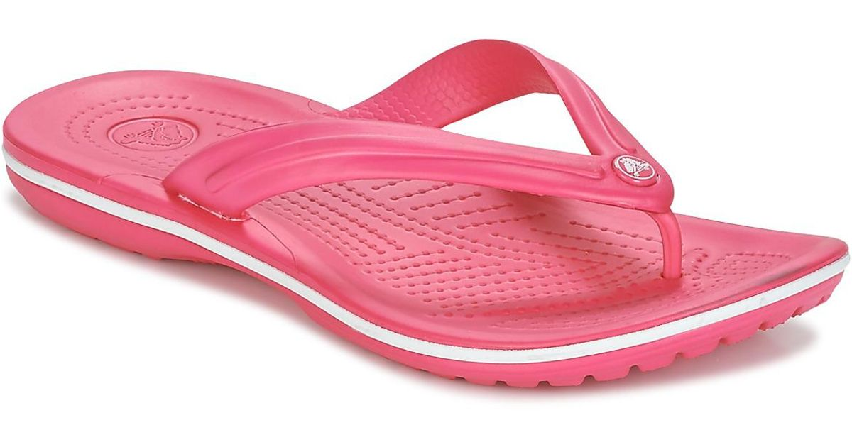 d8de5c2dec6 Crocs™ Crocband Flip Women's Flip Flops / Sandals (shoes) In Pink
