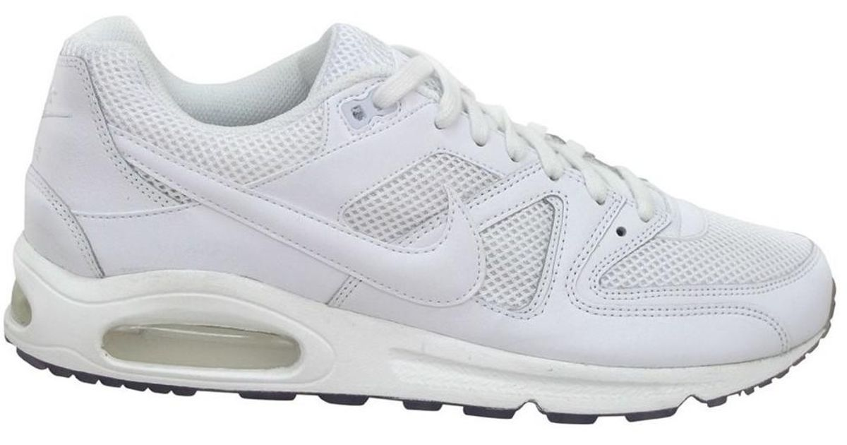 check out 2e1ae 84bc4 Nike Air Max Command Men s Running Trainers In White in White for Men -  Save 38.65979381443299% - Lyst