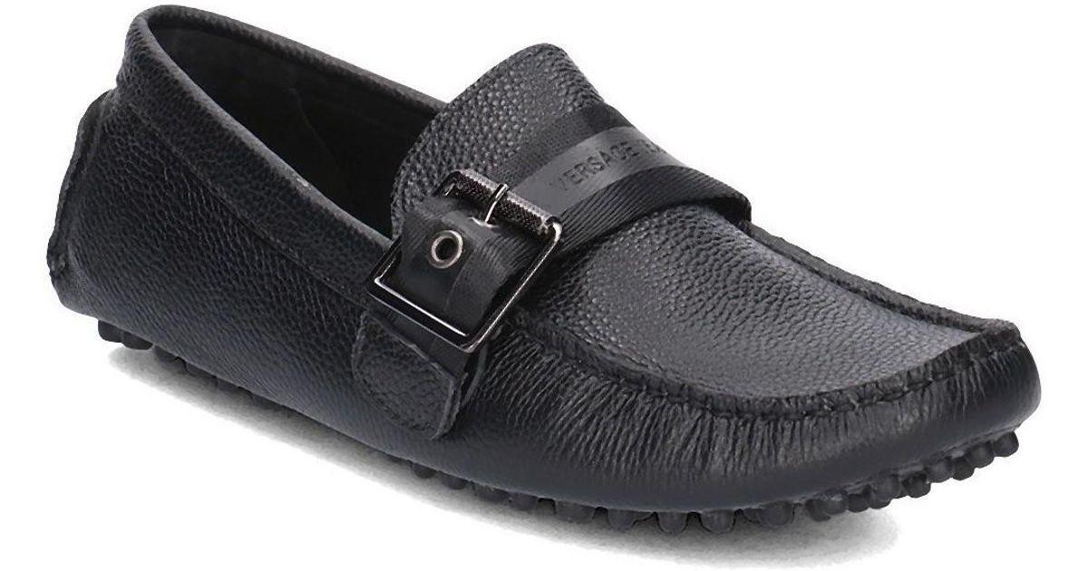 f20ec5b0b8 Black Versace Shoes For Lyst Jeans Men's Boat In Men n0wmvN8O