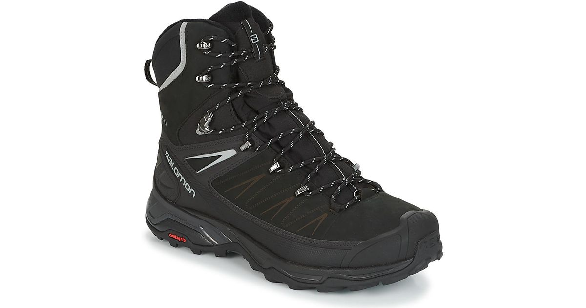 competitive price ba21d a30c9 Yves Salomon Black X Ultra Winter Cs Wp 2 Walking Boots for men