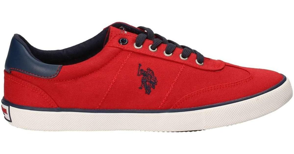us polo red sneakers - 60% OFF