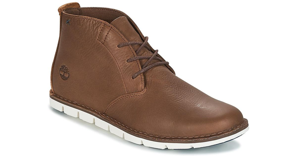 25609d04f1d2 Timberland Tidelands Desert Boot Men s Mid Boots In Brown in Brown for Men  - Save 20% - Lyst