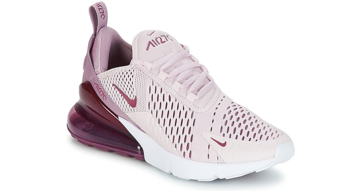 sports shoes 5f21a e43a9 Nike Air Max 270 W Women's Shoes (trainers) In Pink