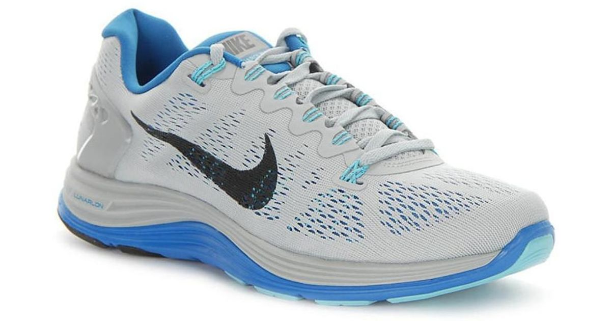 official photos e909a 1d4d2 Nike Lunarglide 5 Men s Running Trainers In Grey in Gray for Men - Lyst