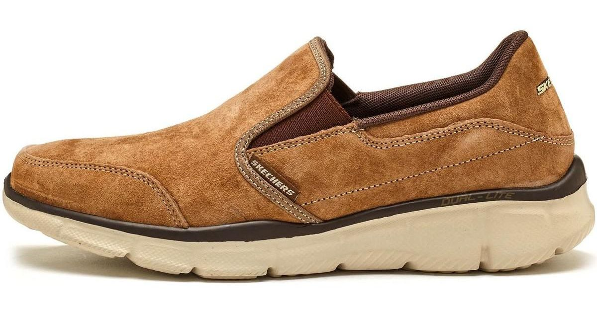 Skechers Equalizer Mind Game Suede Trainers In Brown 51502 Brn Men s Shoes  (trainers) In Brown in Brown for Men - Lyst 4cd1fce40d