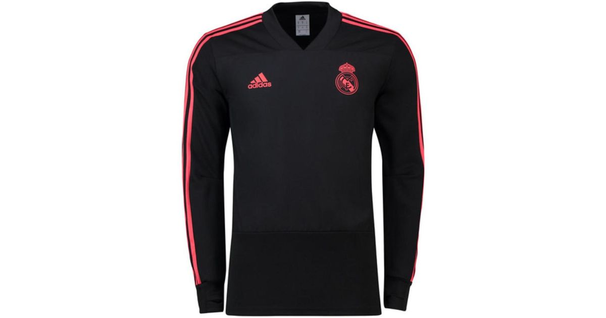 competitive price 06b59 94031 Adidas 2018-2019 Real Madrid Ucl Training Top Men's Tracksuit Jacket In  Black for men