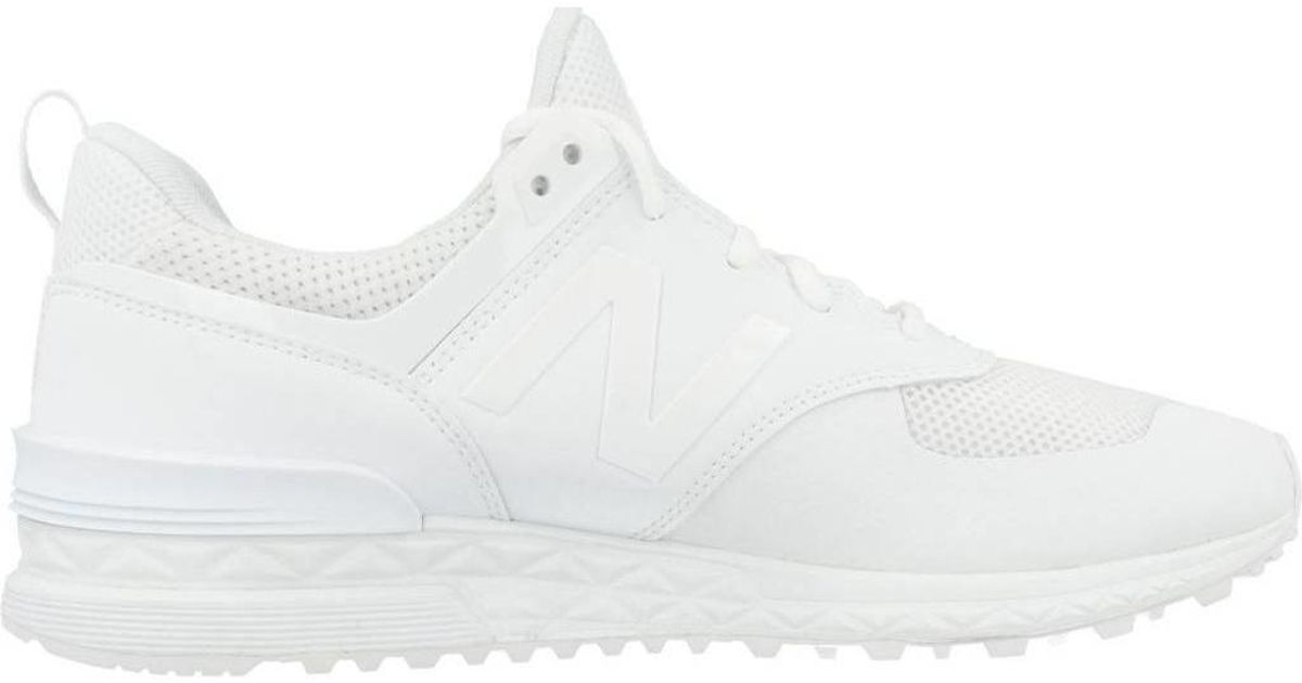 low priced 104e4 da5e3 New Balance Ms574 Swt Men's Shoes (trainers) In White for men