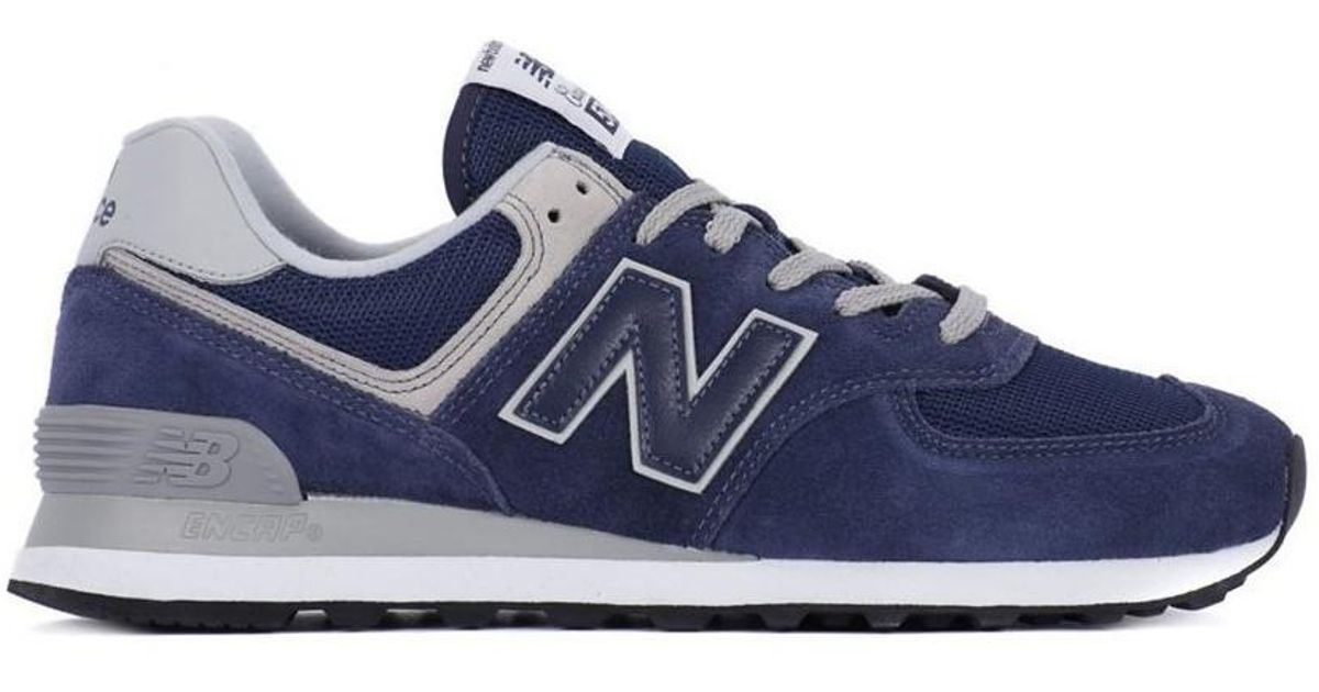 New Balance M574egn Men s Shoes (trainers) In Multicolour in Blue for Men -  Lyst f7b1b75c7
