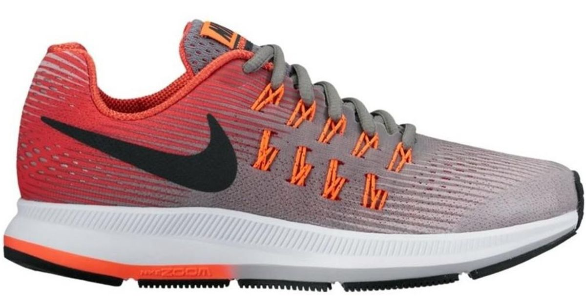 00cbc8d929 Nike Zoom Pegasus 33 Gs Women's Shoes (trainers) In Red in Red - Lyst