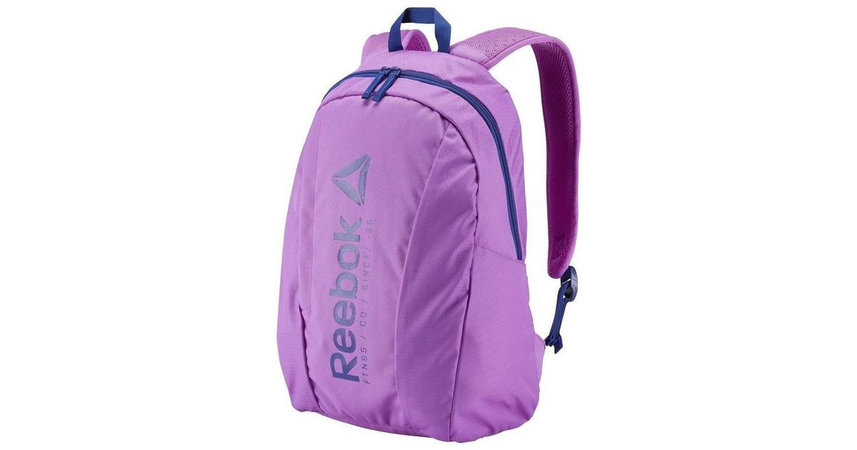 Reebok Foundation Medium Men s Backpack In Purple in Purple for Men - Lyst