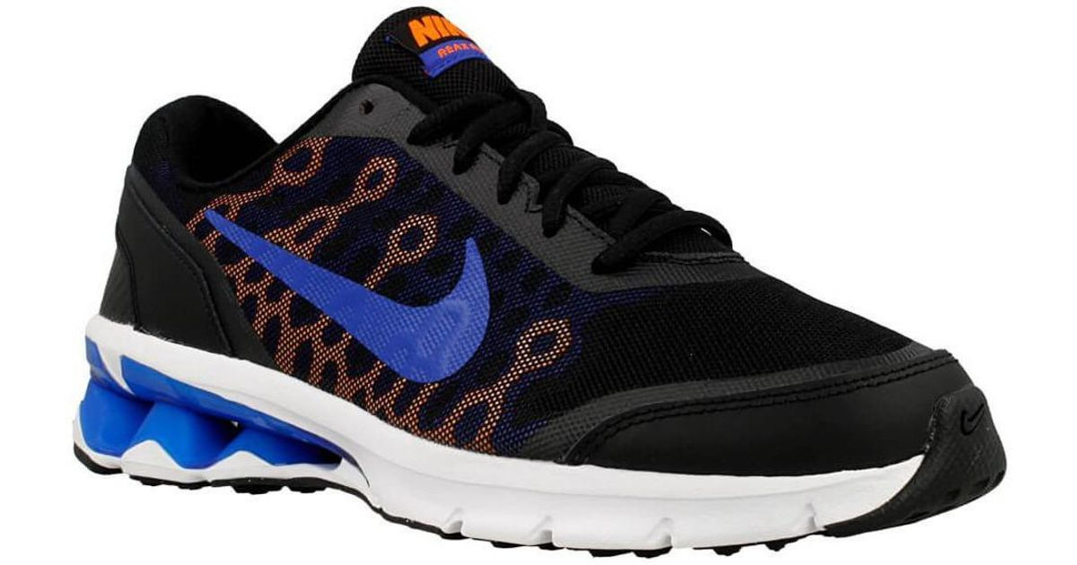 low cost f2062 5a380 Nike Reax Run 10 Mens Shoes (trainers) In Blue in Blue for M