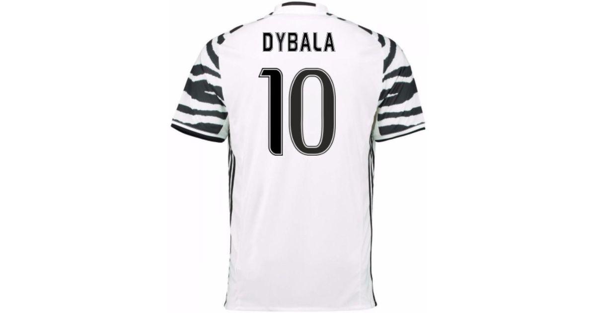 hot sale online 1e2da 581f8 Adidas 2016-17 Juventus 3rd Shirt (dybala 10) Men's T Shirt In White for men