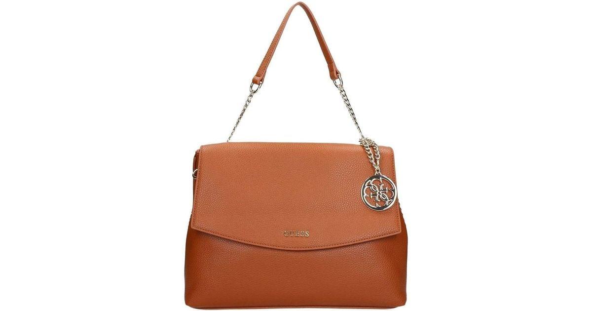 A Borsa Hwisae Women's P7319 Mano In Handbags Brown Guess EOt1O