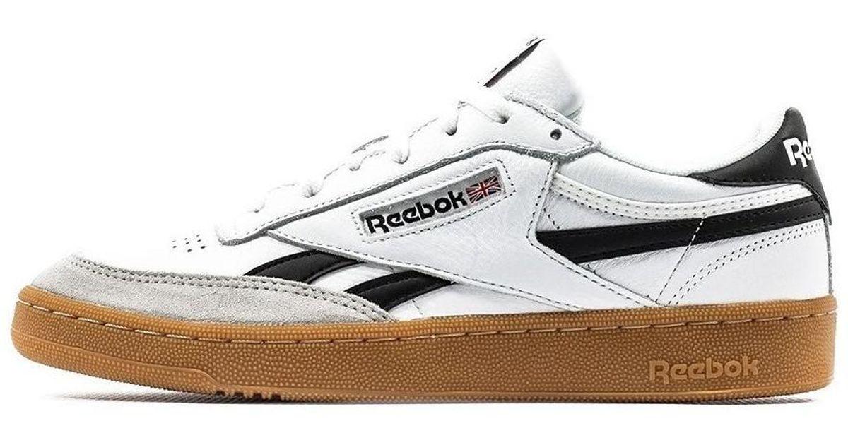 Reebok Revenge Plus Gum Men s Shoes (trainers) In White in White for Men -  Lyst 68088b265