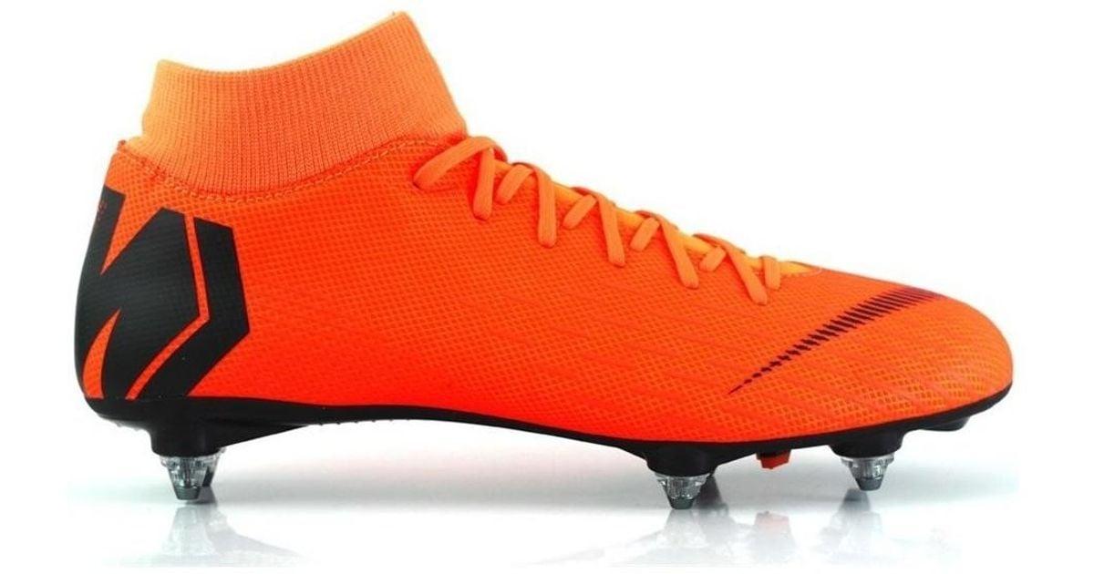 Nike Mercurial Superfly Academy Sg Pro Men s Football Boots In Orange in  Orange for Men - Lyst 82521e6f0