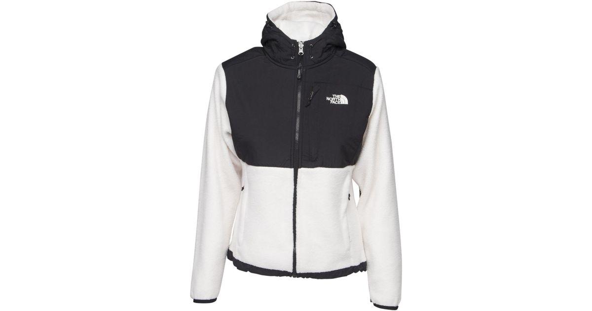 The North Face Masonic Hoodie Women's Fleece Jacket In White