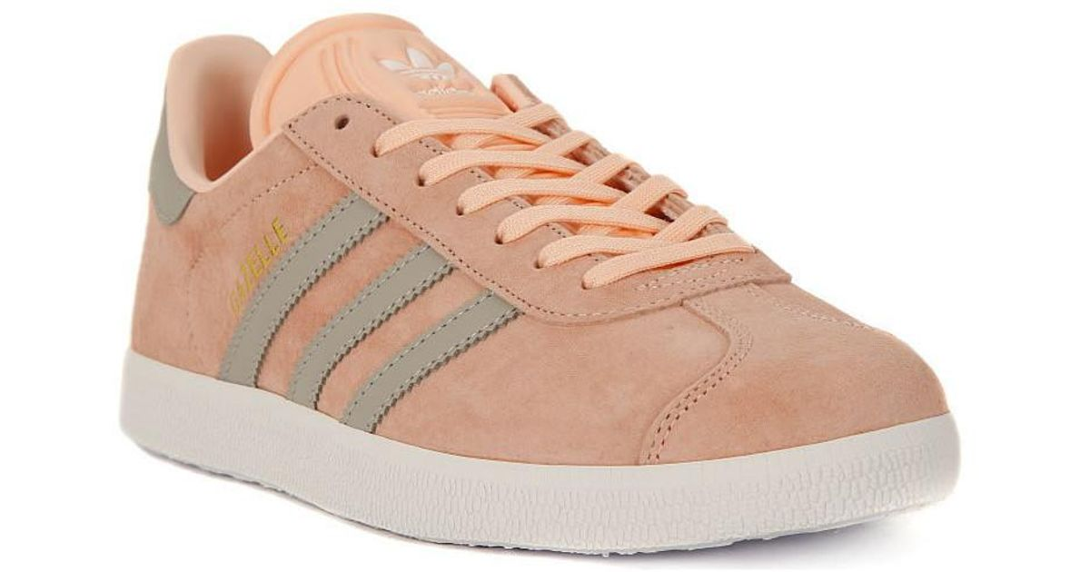 offer discounts exquisite design classic fit adidas Gazelle Women's Shoes (trainers) In Pink in Pink - Lyst